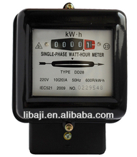 Low price single phase electric inductance watt -hour meter