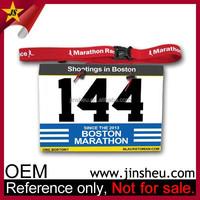 Wholesale Promotional Custom Logo Cheap Triathlon Race Number Belt