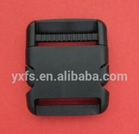 Yixiang high quality 2 inch Heavy Duty Plastic single adjusting side release buckle