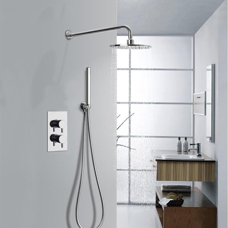 High Quality Concealed Thermostatic Valve Shower With Telephone ...