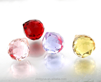 small size crystal multi colored glass chandelier pendents