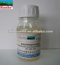 Bulky Smooth and Clear Silicone Emulsion RH-NB-833(Textile chemicals)