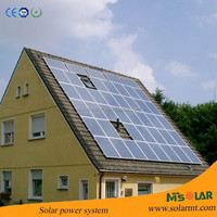 High Quality Off Grid solar power system /solar powered electric motor
