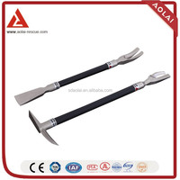 China High Quality cheap Forcible entry tool crowbar, Forcible entry tool typles of crowbar,hand breaking tool