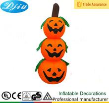 DJ-TL-021 LED light inflatable lighting line 3 Halloween pumpkins ornaments