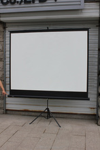 2015 hot sale! different sizes tripod projection screen