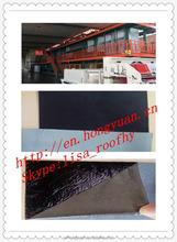 self adhesive HDPE waterproof materials/bitumen roofing felt/asphalt roofing sheet