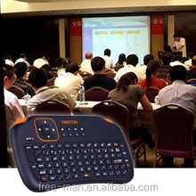 Hot Selling Wireless Mini Keyboard Gaming Air Fly Mouse for Smart TV Android TV Box PS3 XBox