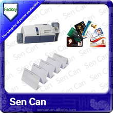 Branded new material made pvc blank card/pvc smart card with 125KHz 13.56MHz chips /blank pvc id card f or ID Card Printer