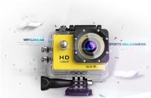 Waterproof full hd 1080p sport camera with A8 WIFI