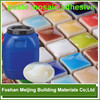 5% discount good sale vinyl tile adhesive back of mosaic manufacturer