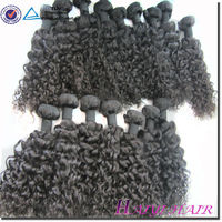 Factory sale natural colour cambodian 16inch curly hair