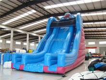 Commercial Inflatable bouncy slide for kids/funky inflatable dry slide