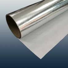netted laminated 3 way aluminum foil white PP