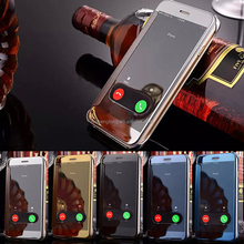 i6s new design mirror leather phone case cover shell for iphone 6s