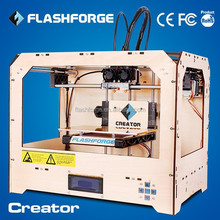 FLASHFORGE high quality and resolution big dimension 3d printer cost