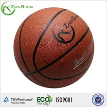 Zhensheng PVC Material Street Basketballs Played on Cement or Asphalt Ground