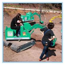 360/180 degree rotation Kid Amusement Excavator Rides kids toy excavator car,excavator videos for kids
