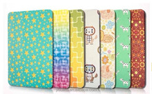 Hot selling shinning raw material girl cartoon tablet leather case for IPad mini