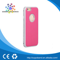 2015 Hot sale wholesale pink case cell phone for iphone6s