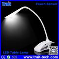 Sensor de táctil Led lámpara de mesa, Flexible Dimming Brillante LED Escritorio Luz Eco lámpara