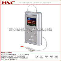 2013 positive clinical trial approved rhinitis Laser physiotherapy equipments
