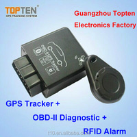 ($1-$38) Mini OBDII GPS Vehicle Tracker with CE /fuel monitoring/speed limiter / Camera/APP
