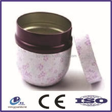 Lastest tin can manufacturer supply round tinplate metal food cans