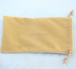 velvet cell phone bag