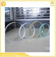 organic sandwich glass resin laminated glass 5mm acrylic sheet