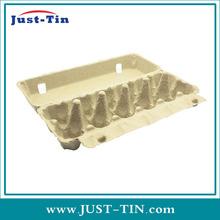 carton brown double corrugated egg box
