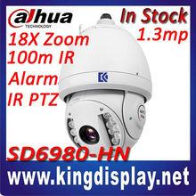 dahua authorized h.264 ip66 ptz wifi ip camera sony ccd high speed dome full hd ip camera with analog output dahua sd6980-hn