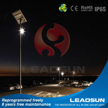 30w Led CE Rated Integrated Solar Outdoor Light Street Light