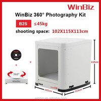 Winbiz best camera for product photography 360 degree revolving