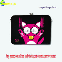 Hot sell neoprene promotion computer bag,neoprene computer carry bag handle cover,neoprene laptop computer bag with handle