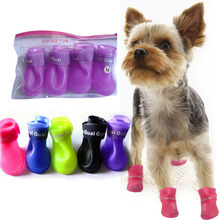 2015 New Dog Shoes Pet Novelty Dog Shoes Waterproof Items Waterproof Dog Boots