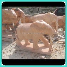 Carved Elephant Stone Carving Sculpture