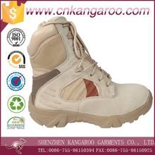Calidad militar suela de goma botas de combate