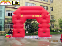 CILE Factory direct sale newly Customized Inflatable wedding Arch
