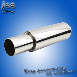 slant cut resonated hi power muffler in guangzhou