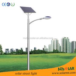 solar panel high capacity battery integrated solar street light