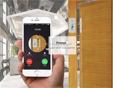 2015 wireless Alarm Magnetic Door Sensor GSM/SMS Home Security alarm