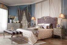 Bedroom sets for luxury classic hotel and home bedrooms Glossy lacquered finish