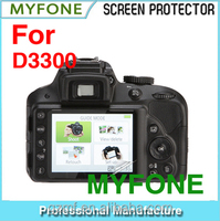 China Supplier Hot PET Clear Camera Screen Protector for Nikon D3300