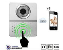 WiFi Video doorbell doorphone Intercom IP Camera Kit with Wireless Indoor Sound Bell Support andriod and ios