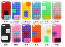 Cell phone case Building block brick legos rubber silicone case for iphone 5