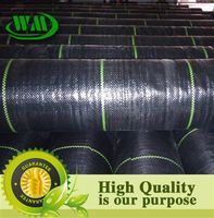 PP/PE black plastic weed control for garden and agriculture