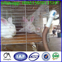 Cheap rabbit indoor cages/ two story rabbit cages for sale