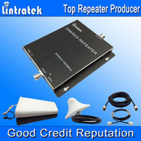 Factory price Dual band GSM WCDMA mobile signal repeater,2g 3g cell phone signal booster