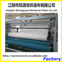 70%polyester and 30%viscose crosslapping spunlace nonwoven for wipes